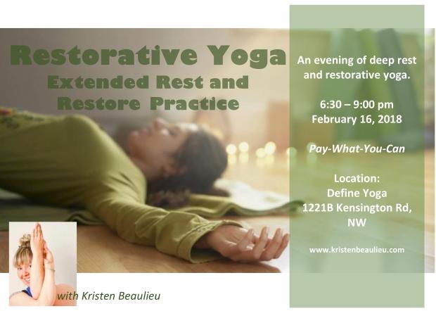 Restorative Yoga Extended Yoga Practice Final