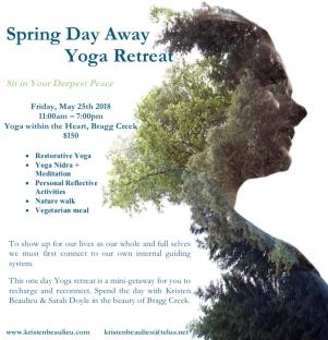 Spring Day Away Poster